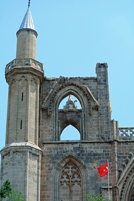 Famagusta - Lala Mustafa Pasha Mosque (St Nicholas Cathedral)