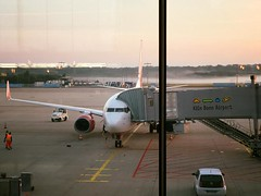 Taking off from Köln/Bonn airport via @ShayMeinecke
