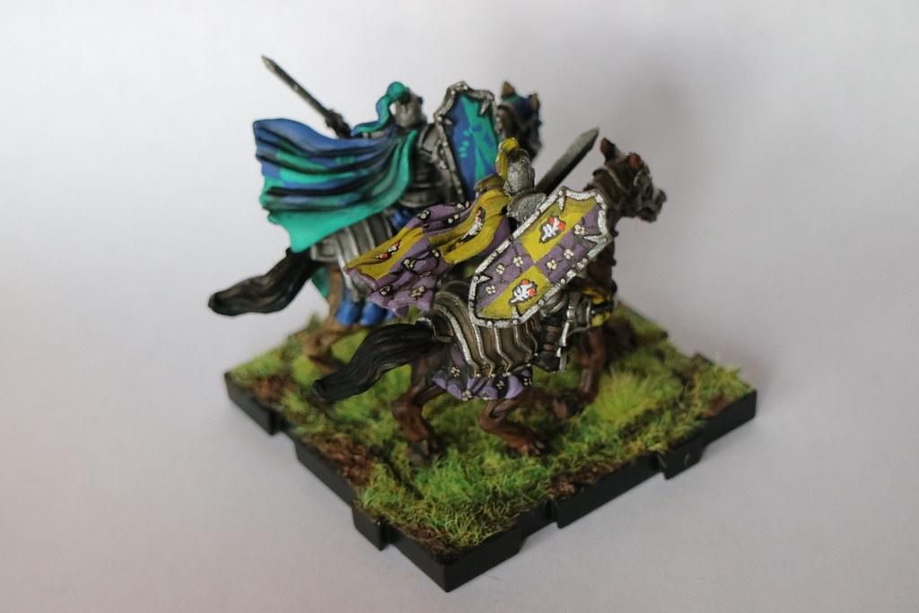 Runewars Miniatures Daqan Knights Back 2