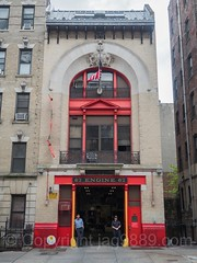 FDNY Firehouse Engine 67, Washington Heights, New York City