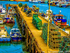 Bridlington Harbour - Yorkshire, England