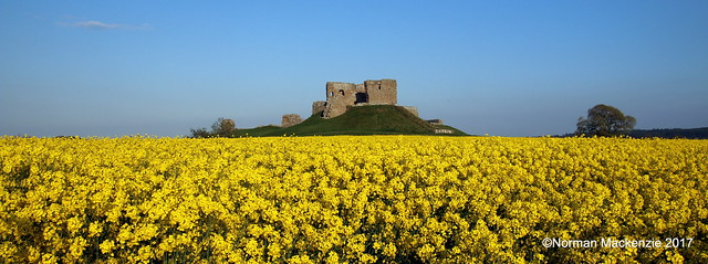 Duffus Castle (Explore 14/5/17 #402), Canon EOS 70D, Tamron 16-300mm f/3.5-6.3 Di II VC PZD Macro