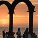 Sunset in Puerto Vallarta por David J. Greer