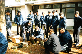 Merivartioiden koulutustilaisuus Glosholmenissa vuonna 1985