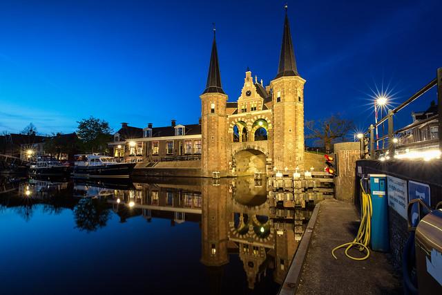 Watergate of Sneek / Friesland