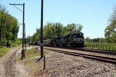 Train 12R ties down, Shenandoah Junction, WV