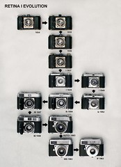 Retina I Evolution (using cameras from my collection)