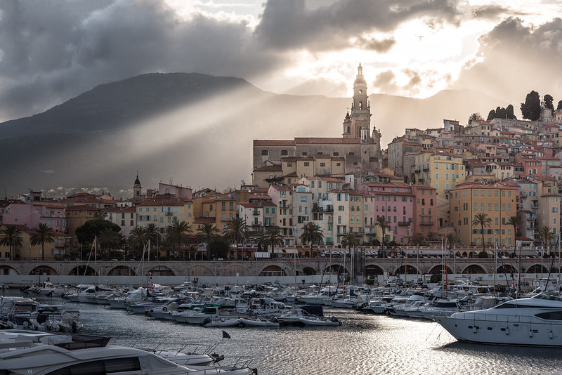 Menton - an unexpected spectacle (explored)