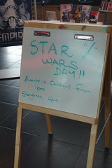 Star Wars Day sign