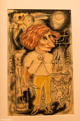 Caricature of Galka Scheyer