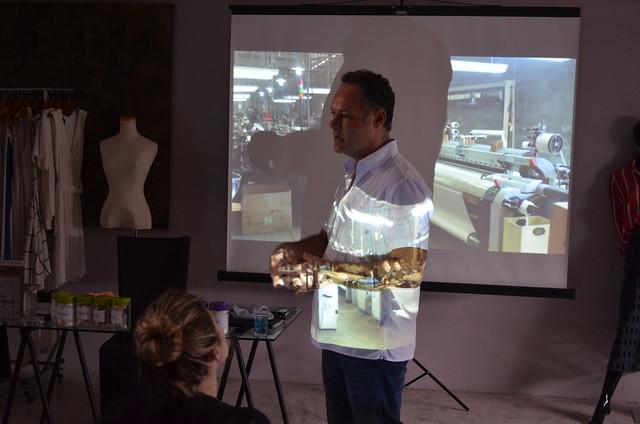Aula externa na G.Vallone Têxtil | IED SP