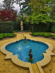 French Parterre (Garden) -- Hillwood Mansion NW Washington (DC April 2017