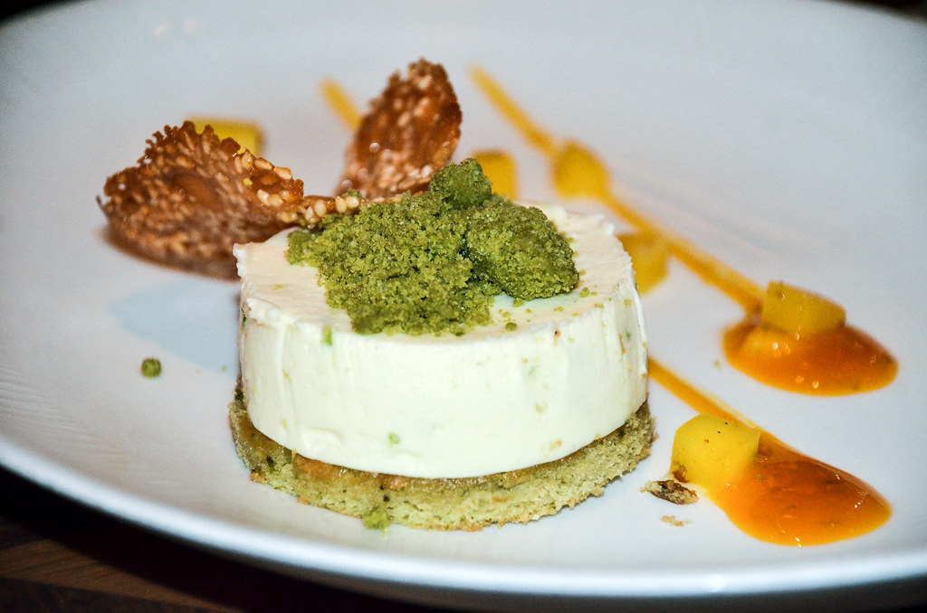 Tiffins green tea cheesecake