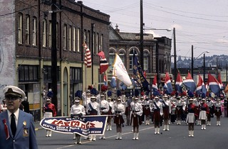 Norwegian Constitution Day parade on Ballard Avenue, 1975