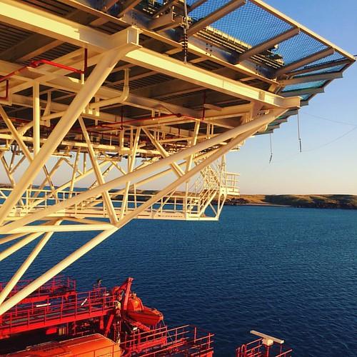 the helipad #floateltriumph #offshore #westralia