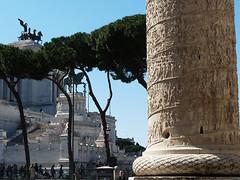 Řím – 10krát z Věčného města: Trajánův sloup (5. díl)