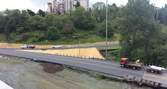 Newly paved ramps to northbound I-5 in Tacoma