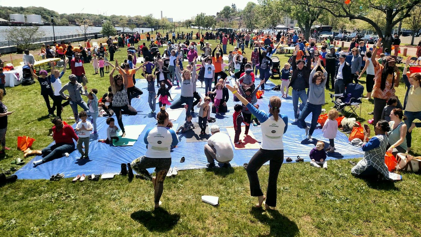 Yoga with Peg Oliveira from 108 Monkeys