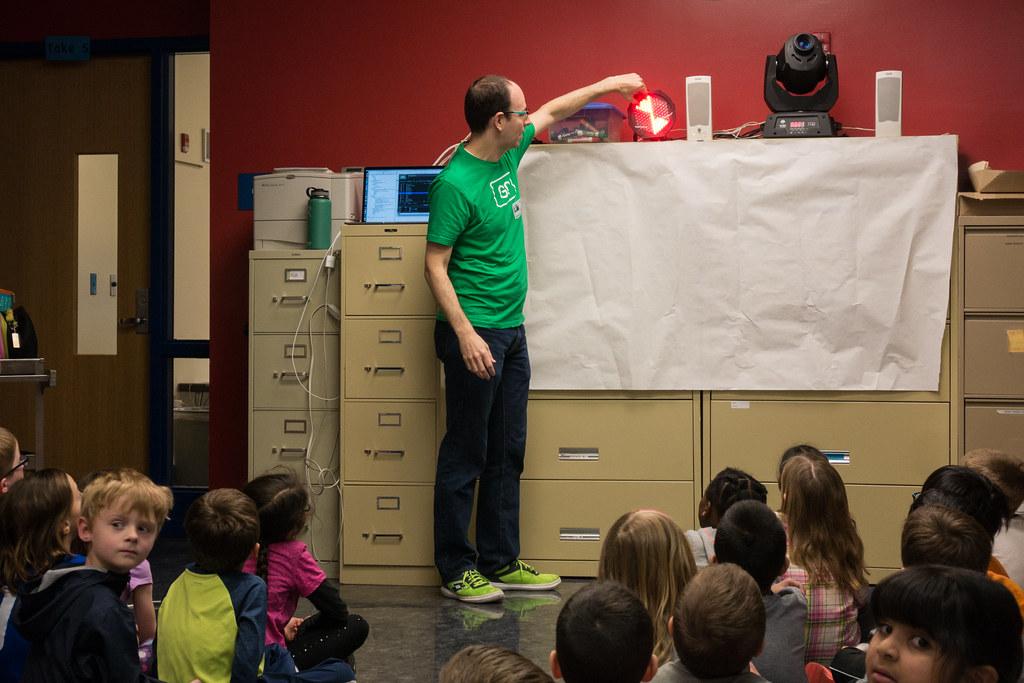 First grade presentation