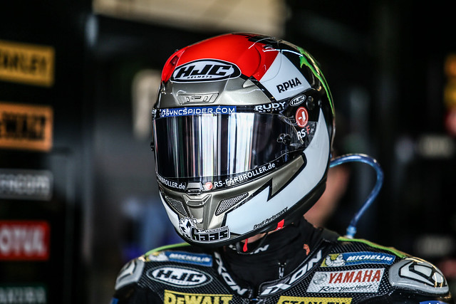 Jonas Folger has his race face on