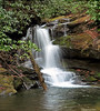 Lower Falls on North Fork of Moccasin Creek