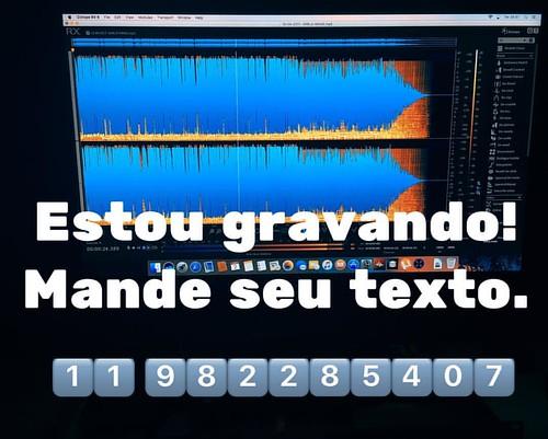 Bom dia!!! Estou na ativa mande seu texto. Promoção na chamada produzida Hoje. Mande seu texto. #vozesdobrasil #whatsapp #instagram #facebook #voiceover #jadsonjordãolocutor #JJPRODUÇÕES