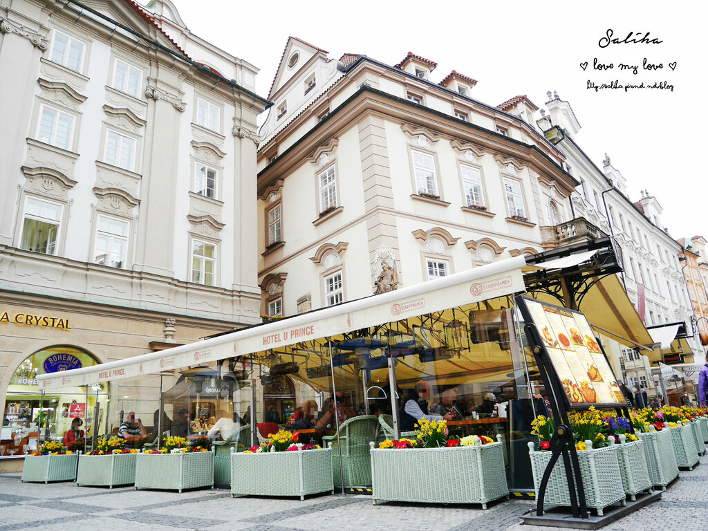 Hotel U Prince Luxury Hotel Prague布拉格舊城廣場餐廳下午茶推薦 (7)
