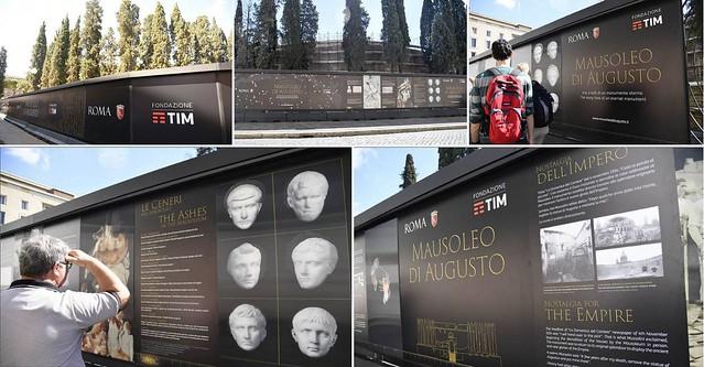 ROMA ARCHEOLOGIA e RESTAURO ARCHITETTURA: MAUSOLEO DI AUGUSTO - RIVIVI L'ETA ORO DI ROMA | Roma - Sovrintendenza Capitolina ai Beni Culturali (02/05/2017). ITALIANO | ENGLISH & CORRIERE DELLA SERA (02/05/2017).