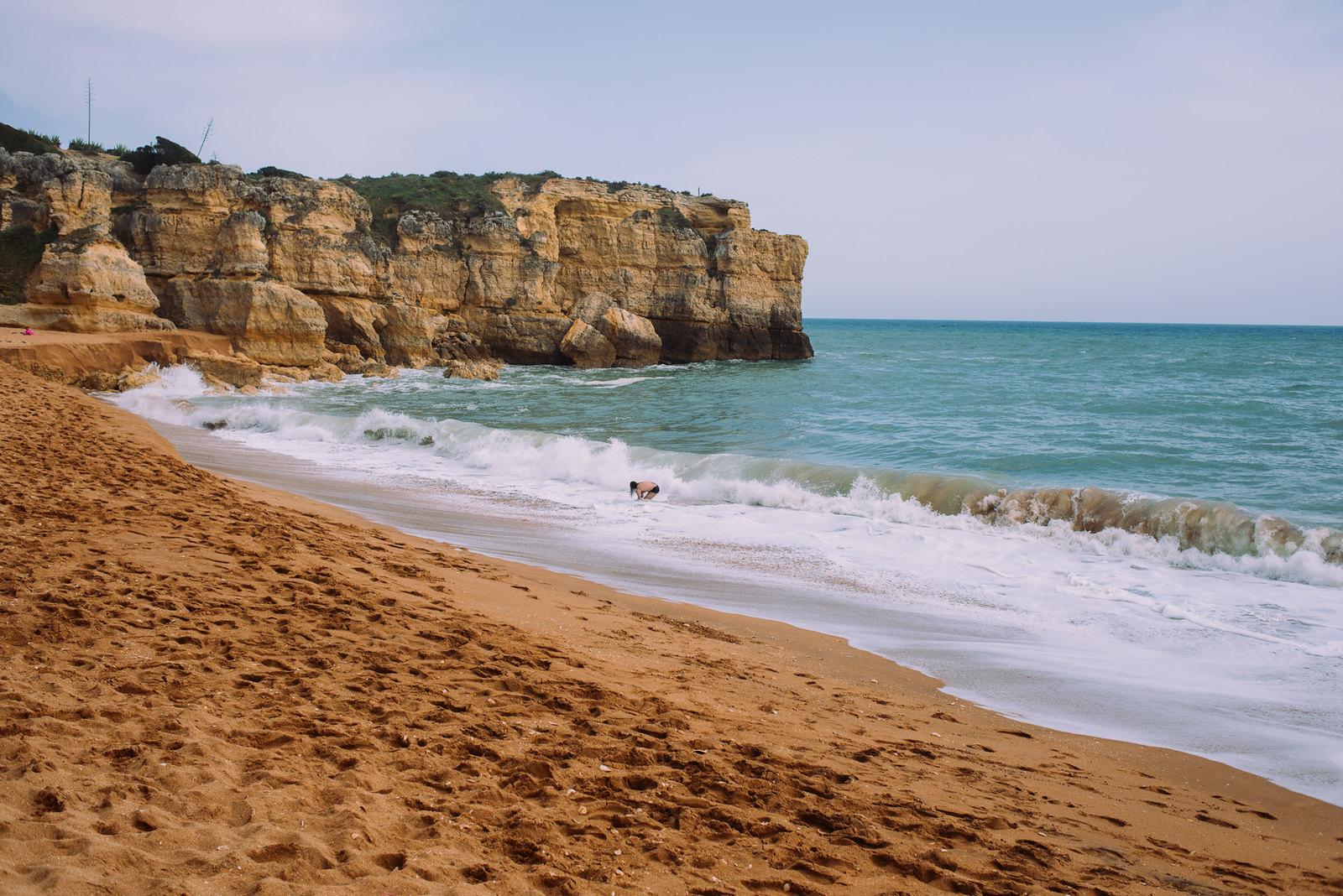 Praia da Coelha strand Algarve-ban
