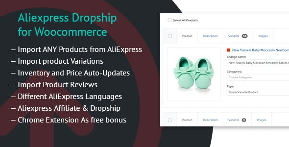Aliexpress Dropship for Woocommerce v1.3.0
