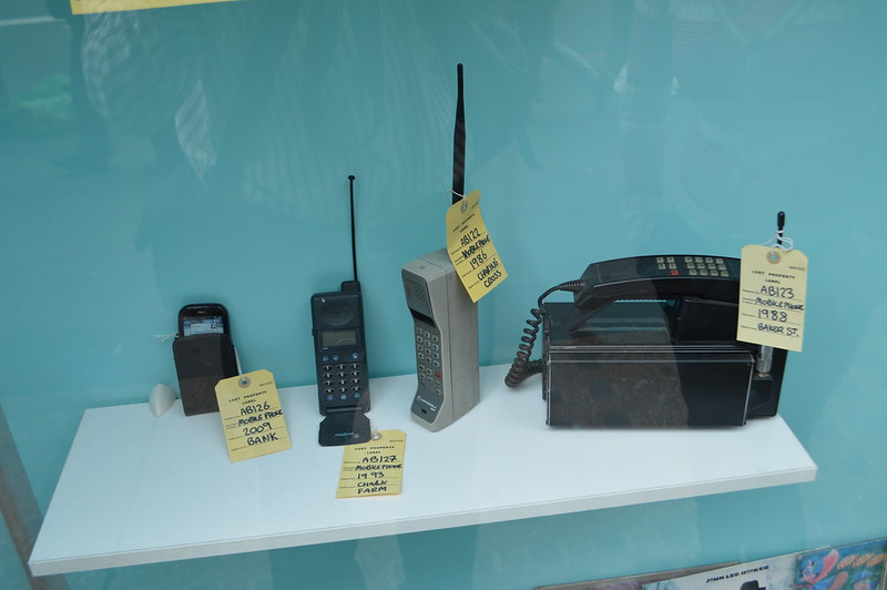 Old mobiles at the LPO