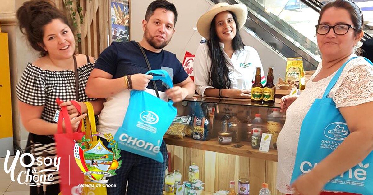 Alcaldía de Chone promociona turísticamente al cantón
