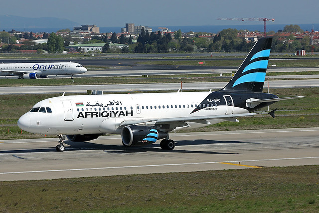 Afriqiyah Airways   A319-111   5A-ONC
