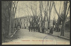 Taulignan - Place de la République. Usines Guyon