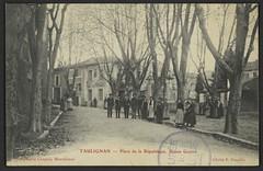 Taulignan - Place de la République. Usines Guyon