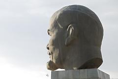Tête de Lénine à Oulan-Oude, la plus grande du monde