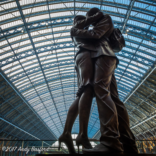The Lovers, London St Pancras