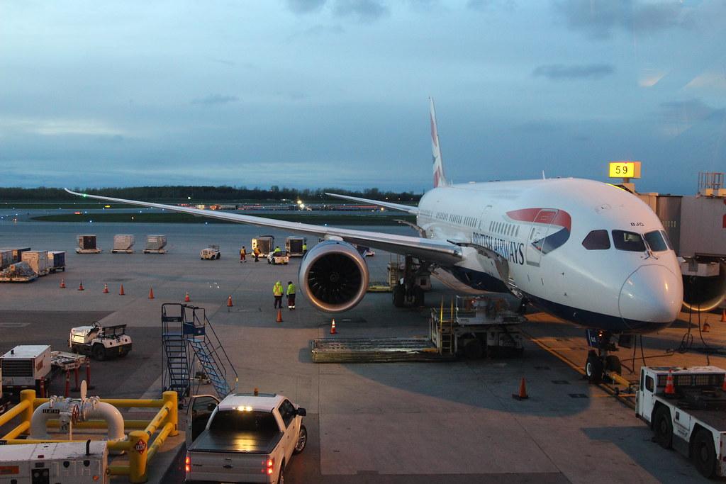 British Airways Boeing 787-8 Dreamliner G-ZBJG