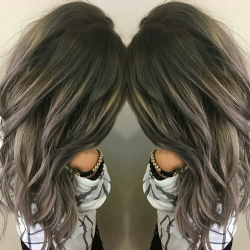 #Smoke 'd out color by Whitney @whitev1 #IAMGOLDWELL #brunettesdonthavetobeboring #goldwellapprovedus