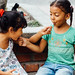 Girls Sharing Lollipops, Fonseca Colombia