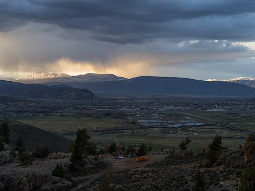 hartmanrocks campfire camping storm sunset tent