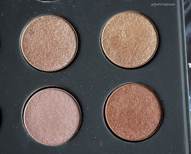 Make Up For Ever Artist Shadows Palette #1 favorite shades