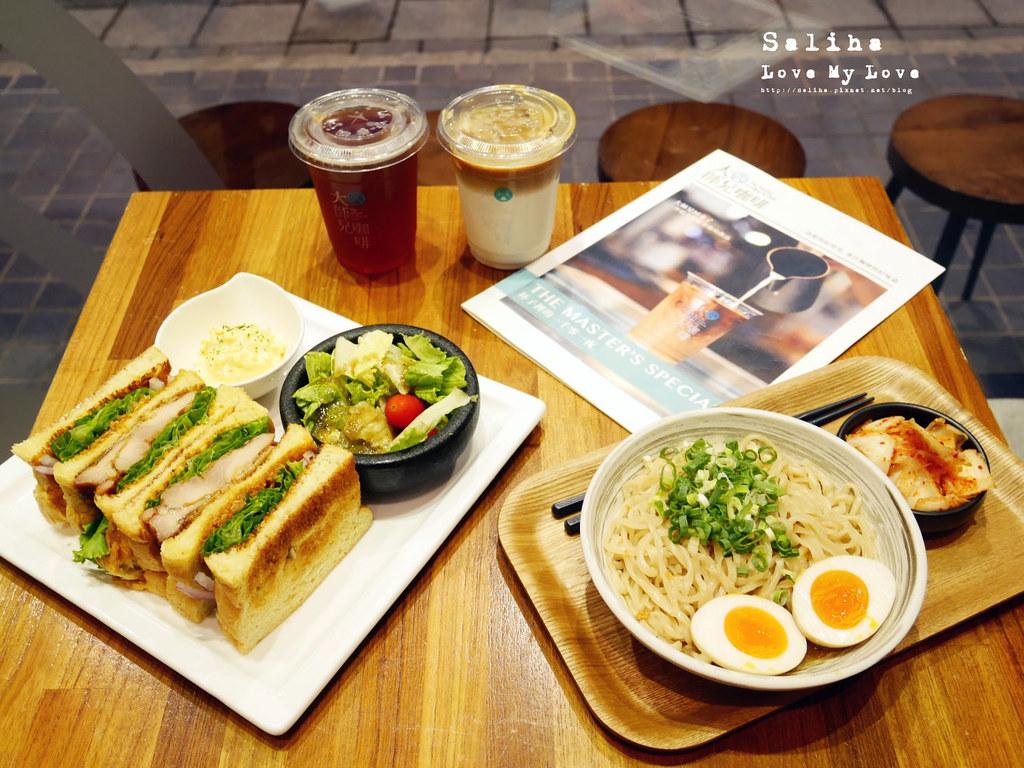 台北松山南京三民站附近餐廳推薦大師兄咖啡早午餐好吃麵 (16)