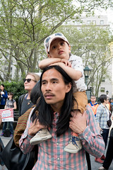 May Day Immigration Rally New York