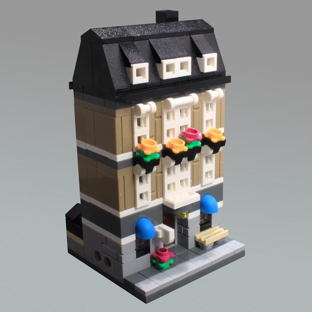 Mini Modular Dentist Office (custom built Lego model)