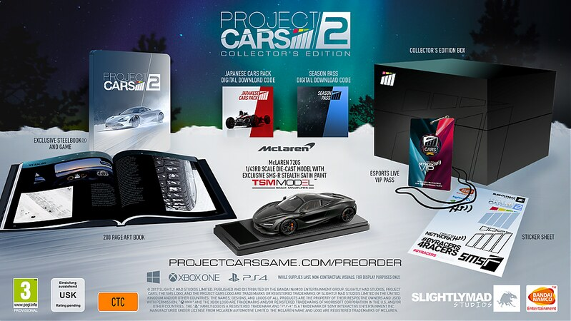 Project CARS 2 Limited collector