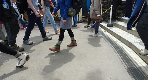 高尾山でデート