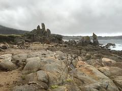 Rocky shoreline/Carmel Middle Beach