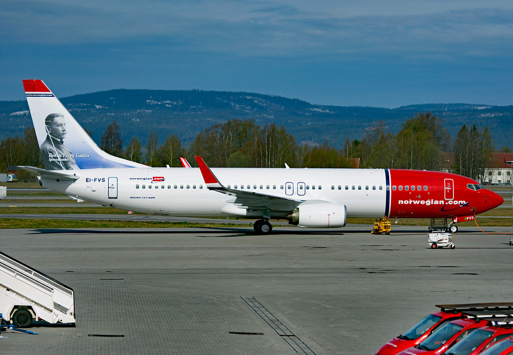 EI-FVS - B738 - Norwegian Air International