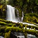 Upper Downing Creek Falls by Mstraite